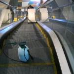 Image 1 Escalators clean in rpogress